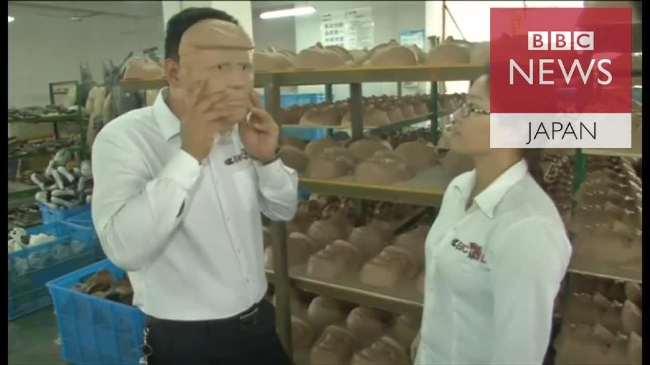 「米の仕事奪う」中国の工場、トランプ氏マスクで商機狙う