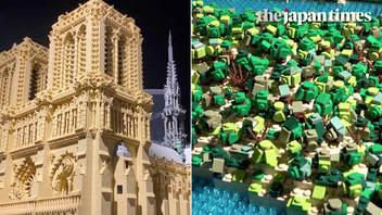 地球上の世界遺産が渋谷・池袋に集結「レゴ®ブロックで作った世界遺産展 PART4」開催