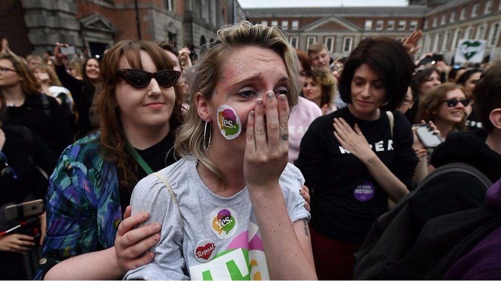 「歴史を作った」 中絶容認へ、賛成派の反応