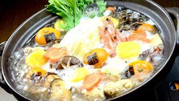 """みかんまるごと!?『みかん鍋』を食べてみた """"Tangerine Hot Pot""""(山口県・周防大島)"""