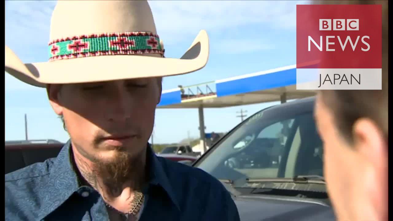 「自分は英雄じゃない」 テキサス乱射容疑者を追跡した男性