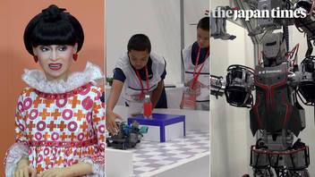 Japan Robot Week 2018 and World Robot Summit 2018 at Tokyo Big Sight