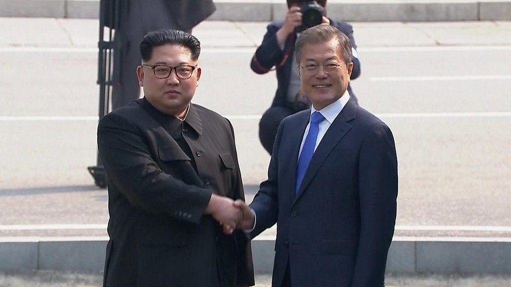 金正恩委員長、韓国入りの瞬間 南北首脳会談