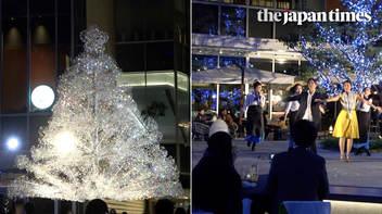 ミュージカルも楽しめるクリスマスイベント「Kioi Crystal Winter '19/'20」が東京ガーデンテラス紀尾井町で開催