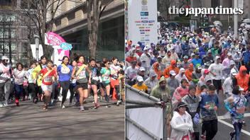 Tokyo Marathon 2019 and pre-day events at Marunouchi