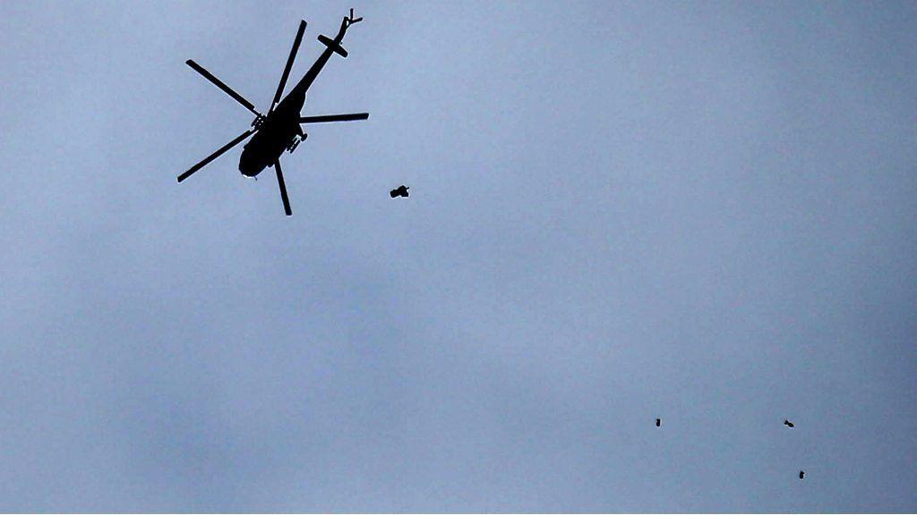 爆弾が雨のように降る…シリア政府が東グータ攻撃 多数死傷