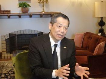 ロイヤルホスト株式会社 代表取締役社長佐々木徳久氏