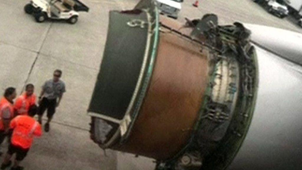 飛行中にエンジンがガタガタと…ハワイ行きユナイテッド航空機