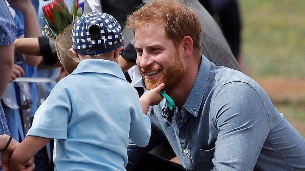 5歳の男の子、ハリー英王子のひげがお気に入り 豪州