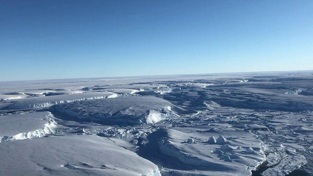 「絶滅に向かう」氷河、なぜ急速に解けている? 西南極で取材