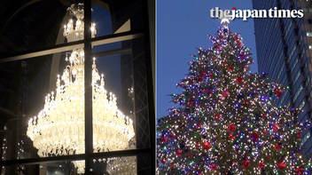 「Baccarat Eternal Lights」大型シャンデリアが恵比寿ガーデンプレイスで点灯