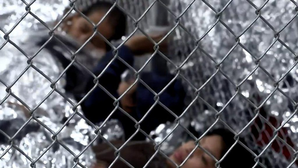 親から引き離され泣く子供たち 米国境施設で NPOが音声入手