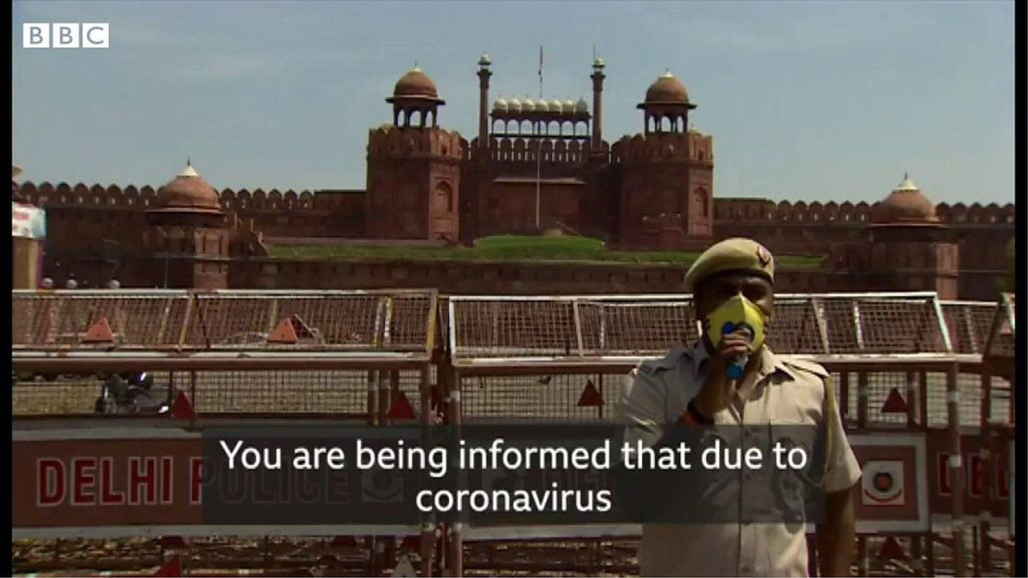 インドで21日間の封鎖始まる、帰りそびれた人も 新型コロナウイルス