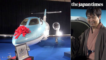 Delivering the first HondaJet Elites to Japanese customers