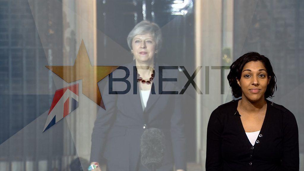 ブレグジット政局、何があったのか 閣僚辞任で英首相に圧力