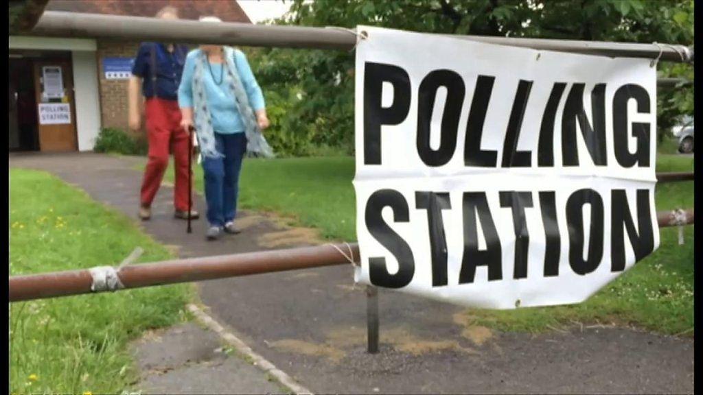 【英総選挙2019】 投票所でやっていいこといけないこと たとえば犬は
