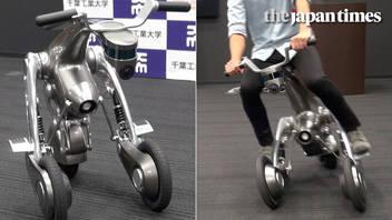 Introducing CanguRo, three-wheeled robot