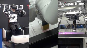 「2019国際ロボット展」が東京ビッグサイトで開催