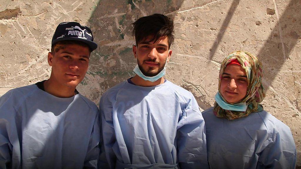 若者が遺体回収ボランティア イラク・モスル IS撤退から9カ月