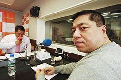「マット安川のずばり勝負」ゲスト:佐藤優/前田せいめい撮影