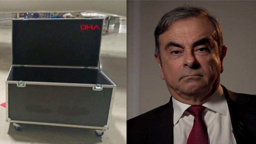 ゴーン被告、楽器ケースに隠れていた? BBC単独会見で追及