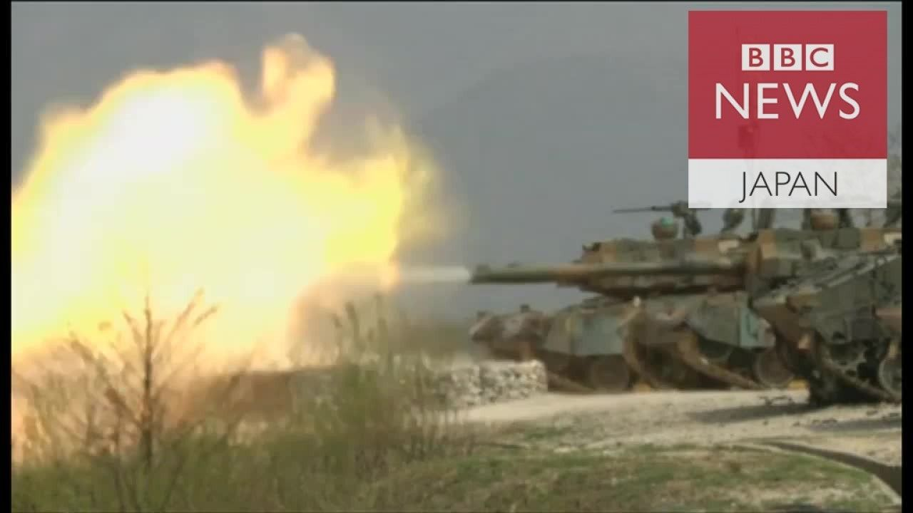 米韓軍、南北境界線近くで合同火力訓練 北朝鮮をけん制