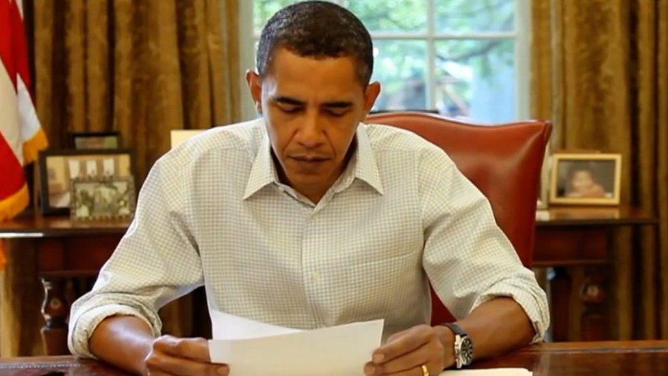 1週間に6.5万通 オバマ前大統領に宛てられた手紙