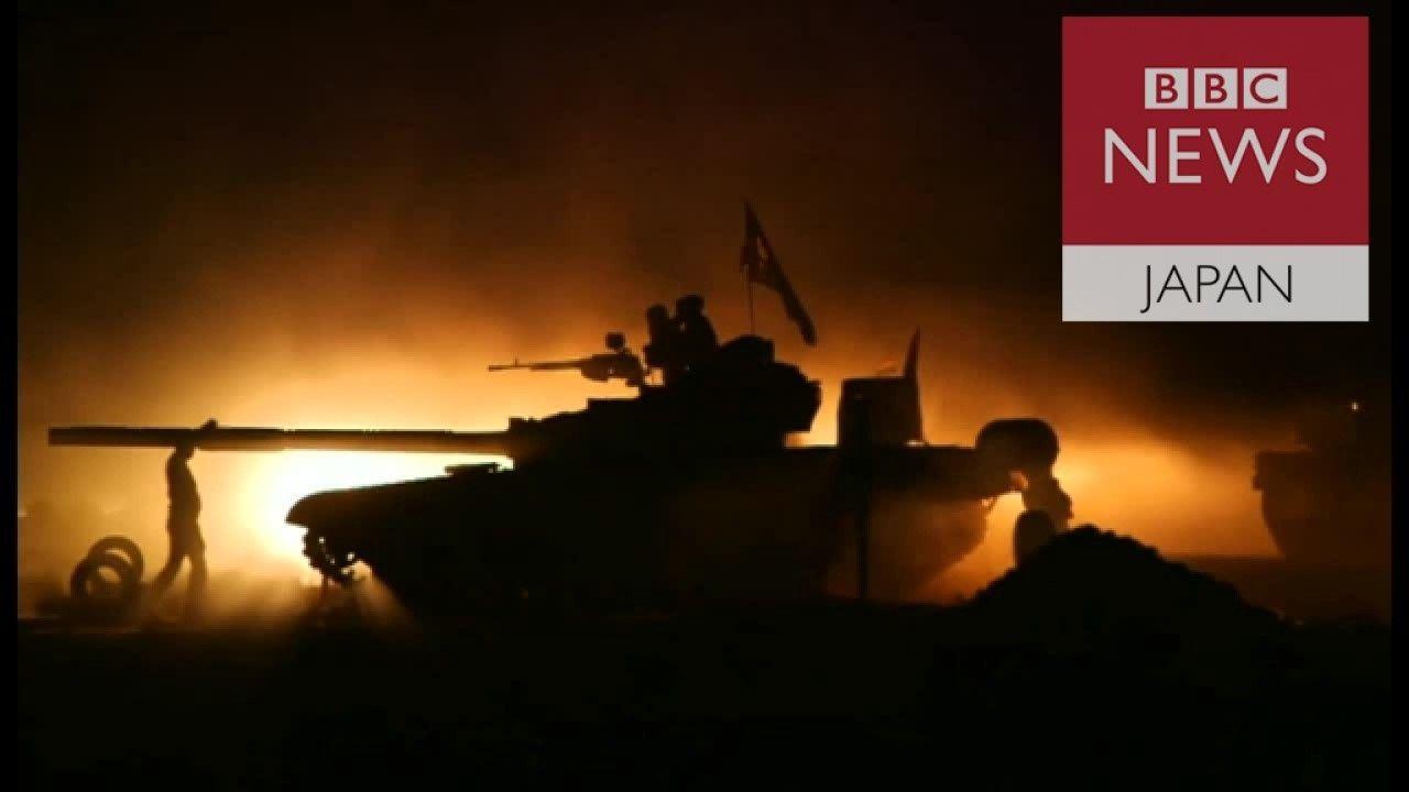 イラク軍、国内のIS最大拠点モスルに攻撃開始