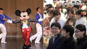 東京ディズニーランド、キャラクターショーで新成人の門出を祝福