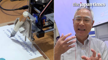 Introducing Pendroid: A Japanese robot who writes business letters with a pen