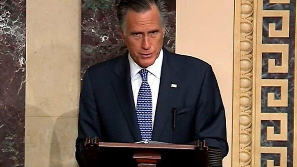 造反したロムニー米上院議員の演説、「大統領は重罪と不品行を犯した」