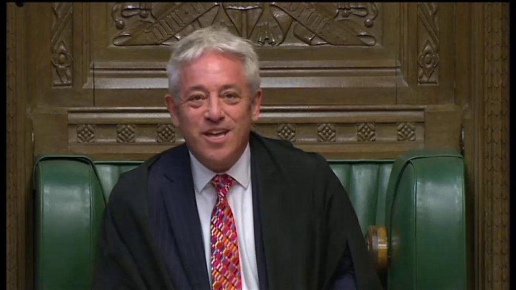 バーコウ下院議長、「お帰りなさい」 英議会が再開