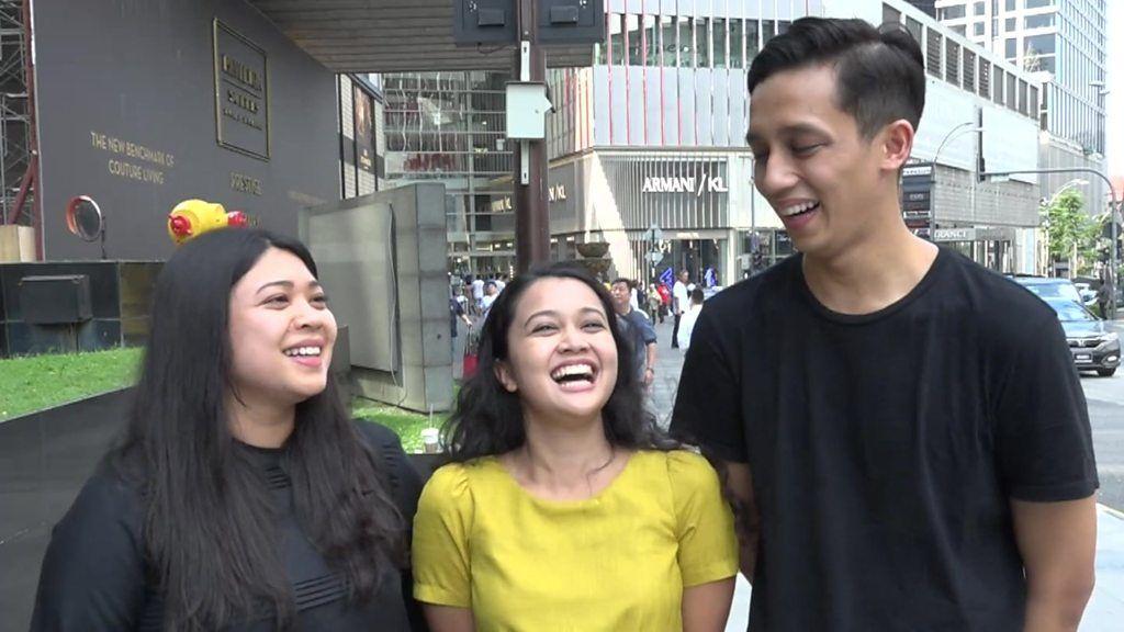 マレーシア下院選 92歳に投票した若者たち