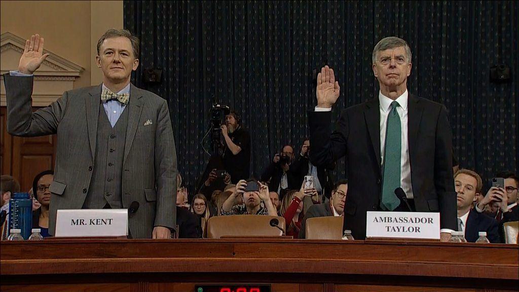 トランプ氏への弾劾公聴会、始まる ウクライナに何を