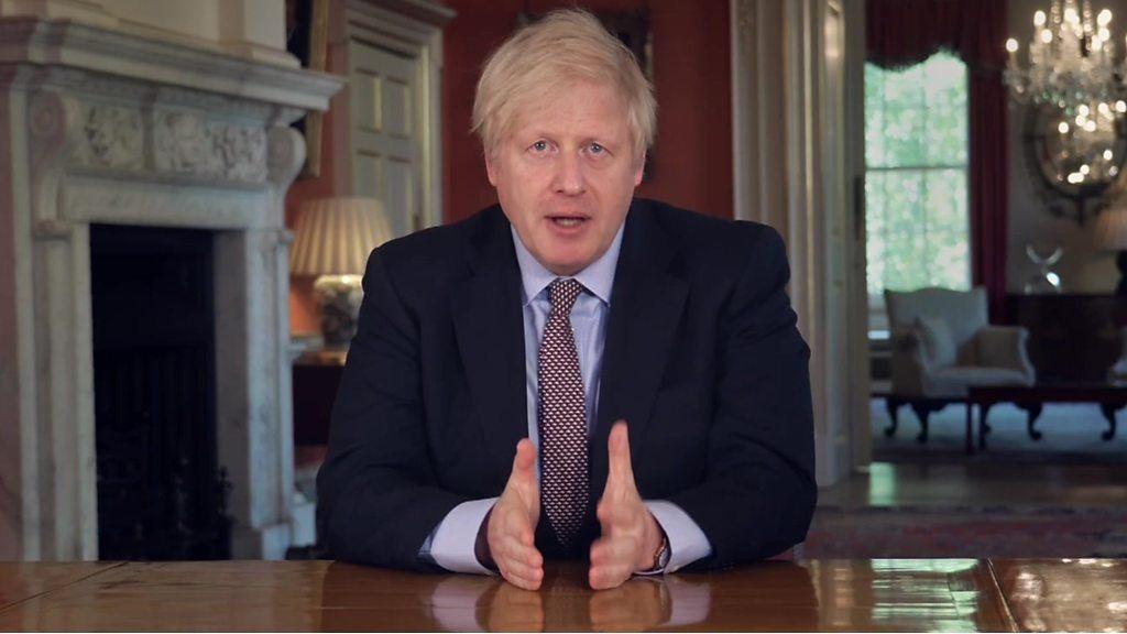 ジョンソン英首相、ロックダウンの段階的緩和へ計画発表
