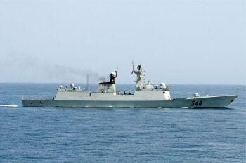 仮想標的は日米艦隊、中露が海軍...