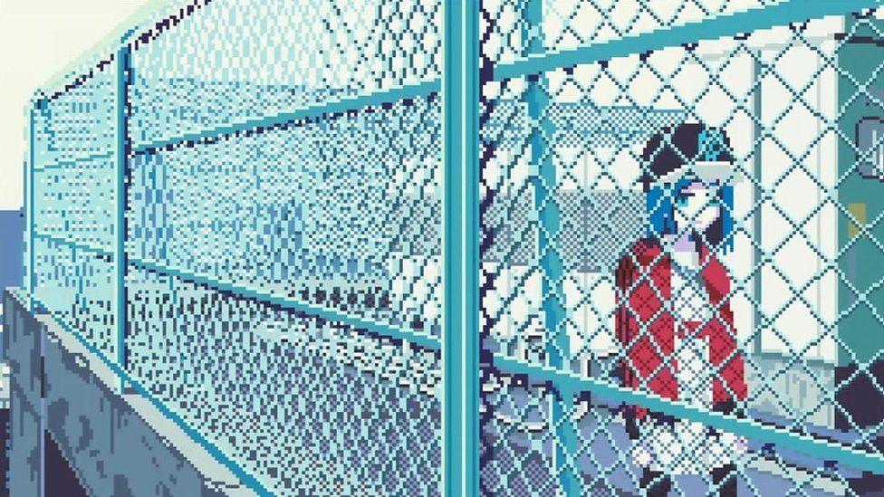 「ロンリーGIF」 日本のイラストレーターに海外も注目