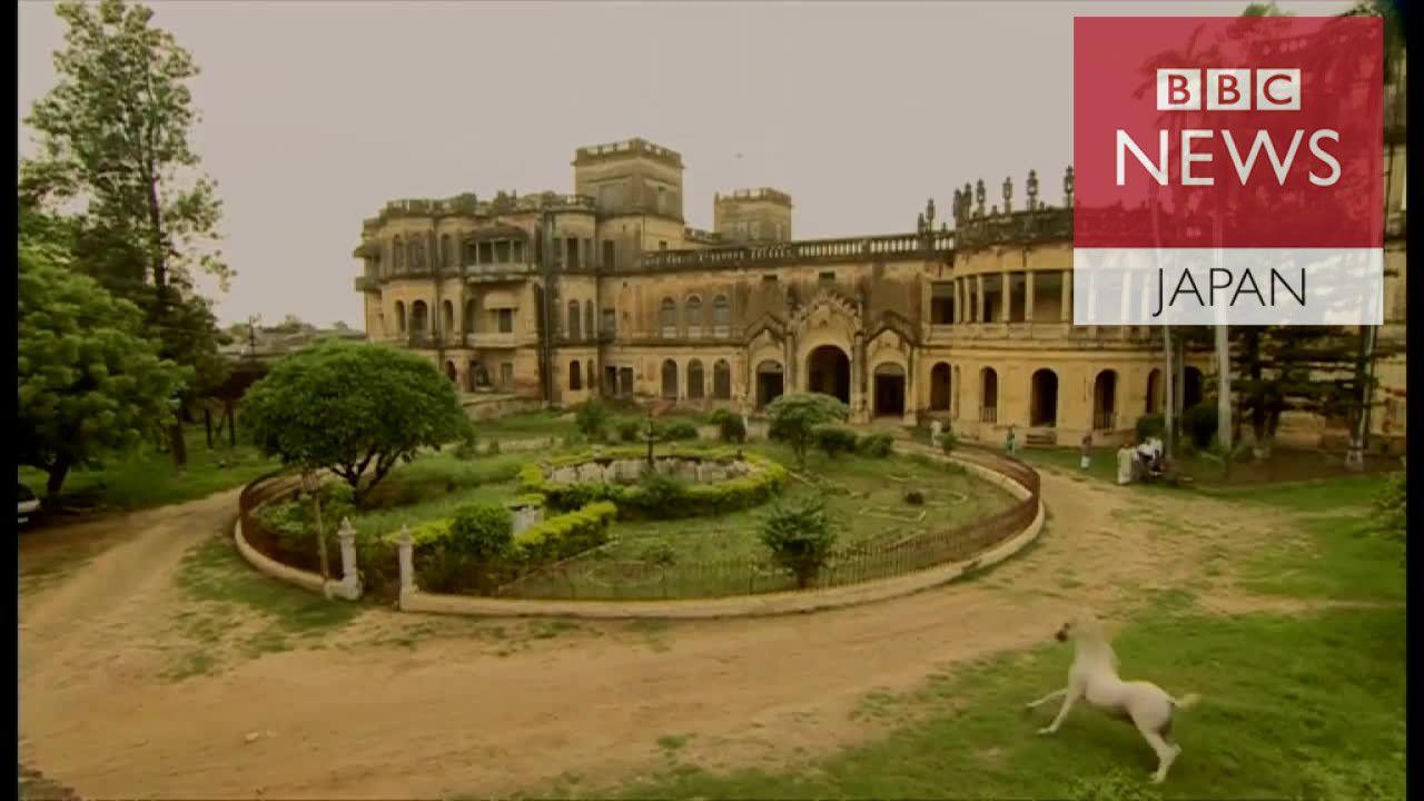 崩れ行くインドの宮殿 印パ分離70年の歴史物語る