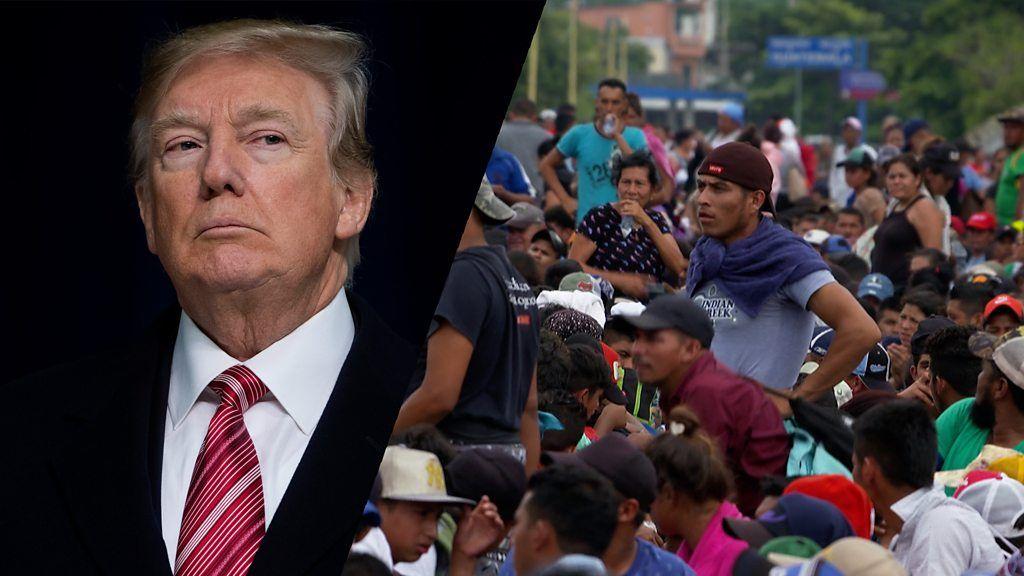 中米から米国目指し移民数千人が北上中 トランプ氏の批判は本当なのか