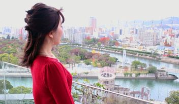 広島の新スポット・おりづるタワーから眺める貴重な景色(広島県・広島市)