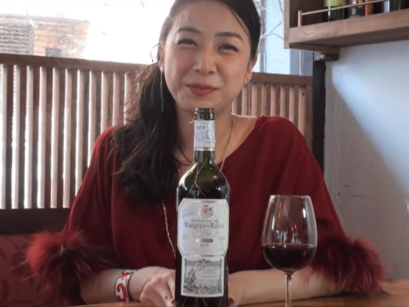 今日のワインはこれ「マルケス・デ・リスカル ティント・リゼルヴァ」