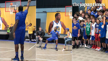NBA star Draymond Green's first trip to Japan