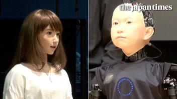 Introducing androids Erica and Ibuki, by Hiroshi Ishiguro