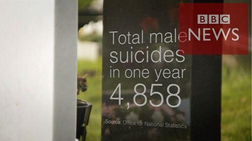 なぜ父は自殺したのか BBC記者が男性の自殺を取材