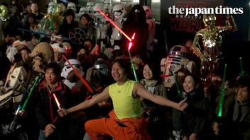 'Star Wars: The Last Jedi' countdown in Tokyo