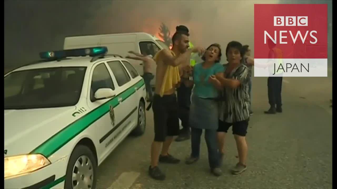 「家が、家が……」 ポルトガル山火事