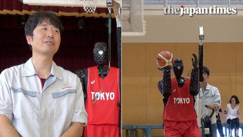 Introducing Toyota Cue3: Basketball-shooting robot