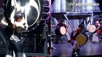 Mangekyo: Japanese drumming show at Yurakucho