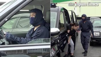 Japan's Ninja de Taxi cabs
