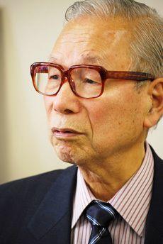 武村正義氏/前田せいめい撮影